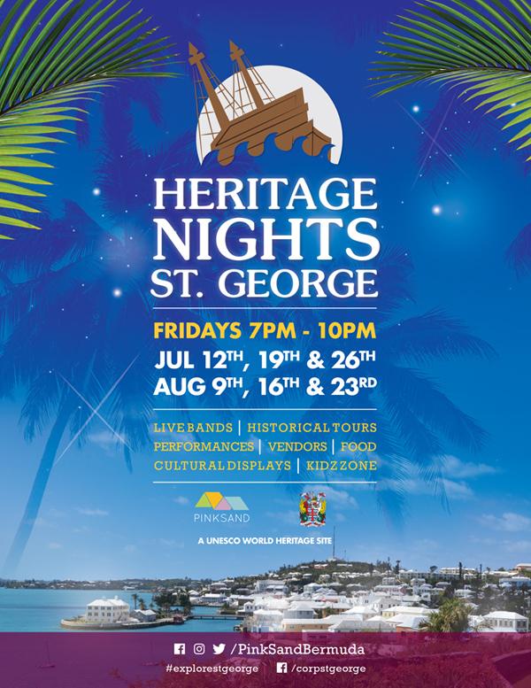 St George Heritage Nights Bermuda July 2019