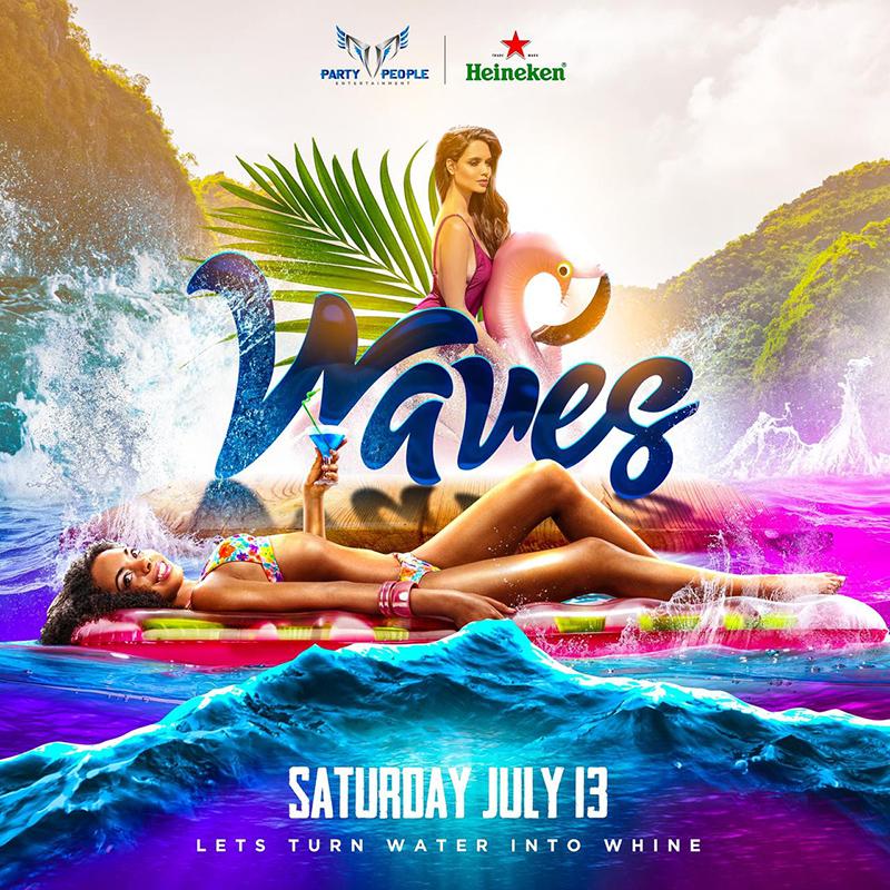 Waves Pool Party Bermuda July 2019