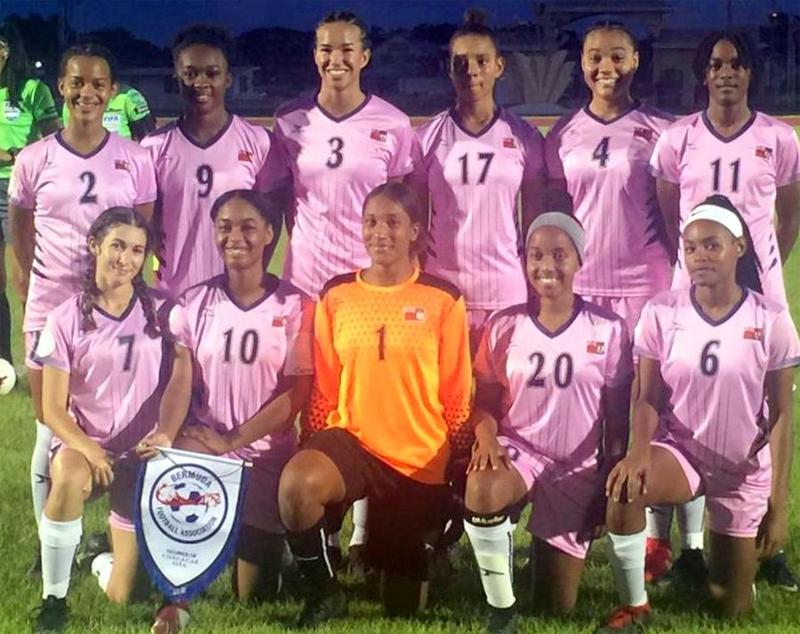 Women's U20 Championships Bermuda July 2019