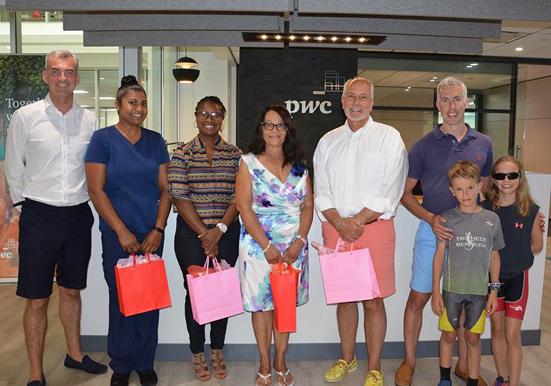 World Triathlon Bermuda Volunteers July 2019