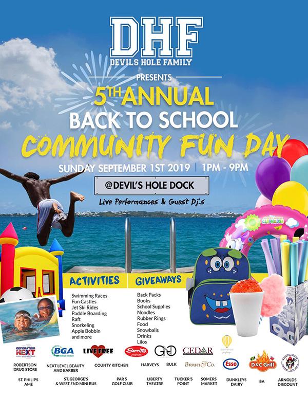 5th Back To School Community Fun Day Bermuda Aug 2019