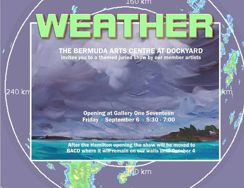 Art Centre's Weather-Themed Show Bermuda Aug 2019