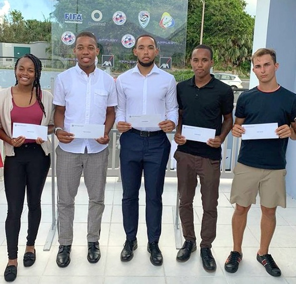 BFA Legends Scholarship Recipients Bermuda August 2019