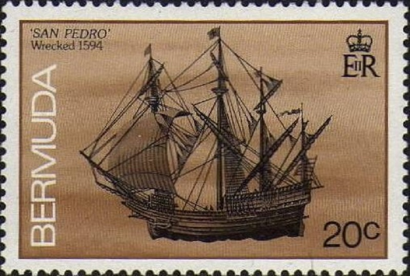 Bermuda Treasure Fleet  San-Pedro-1594