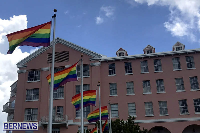 Bermuda businesses flying rainbow flags for Pride Month 2019 (12)