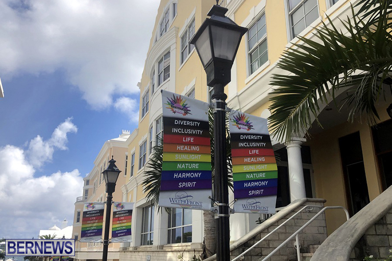Bermuda businesses flying rainbow flags for Pride Month 2019 (14)