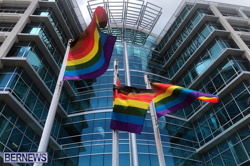 Bermuda businesses flying rainbow flags for Pride Month 2019 (6)