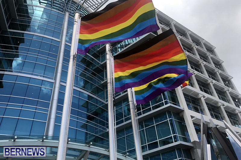 Bermuda businesses flying rainbow flags for Pride Month 2019 (8)