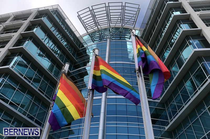 Bermuda businesses flying rainbow flags for Pride Month 2019 (9)