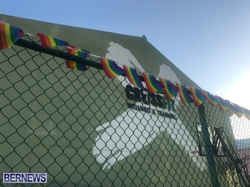Bermuda businesses flying rainbow flags for Pride Month 2019