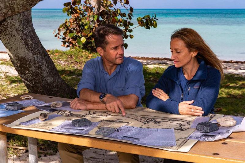 Céline and Fabien Cousteau Bermuda August 2019