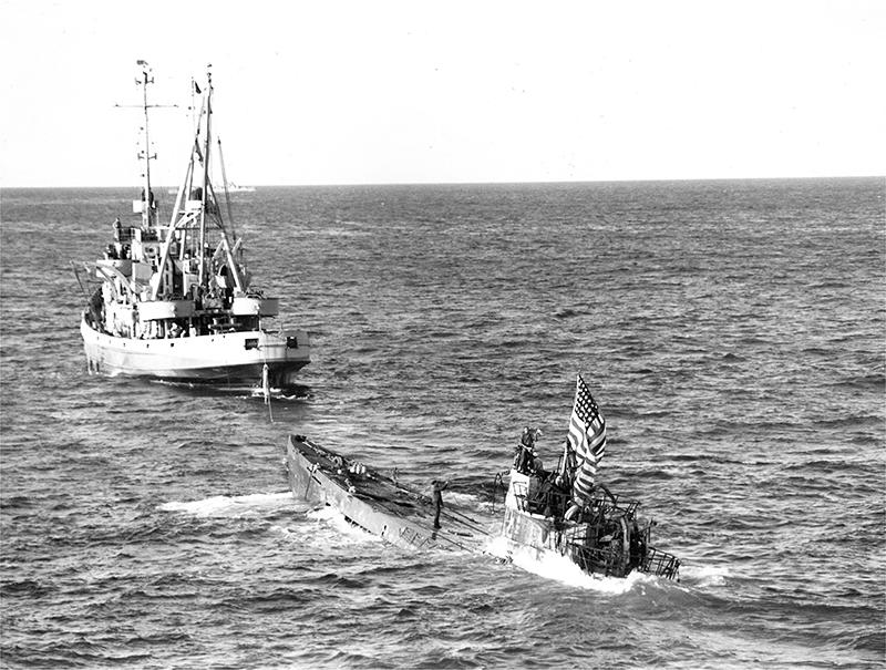 Captured U-505 Bermuda Aug 2019 (1)