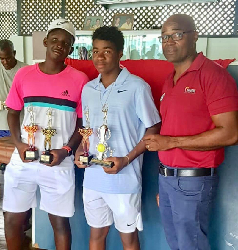 Mackai Whitter Tennis Bermuda Aug 2019