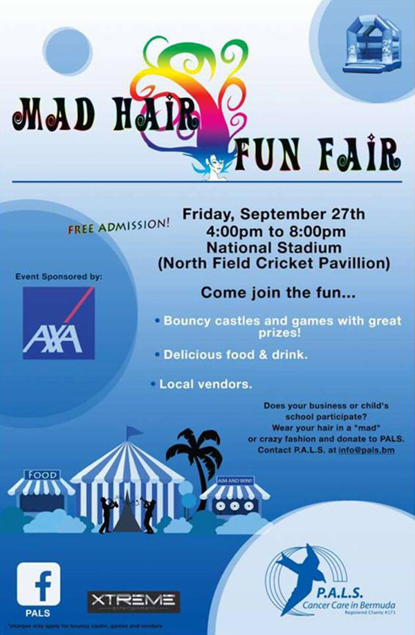 Mad Hair Fun Day Bermuda Aug 2019