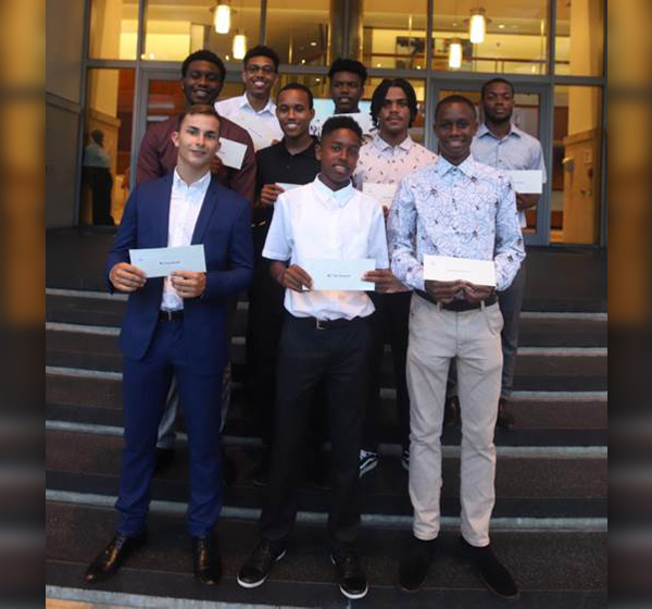 PHC Foundation Scholarship Award Winners Bermuda Aug 2019