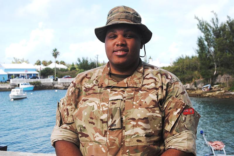 Regiment Bermuda August 5 2019 1