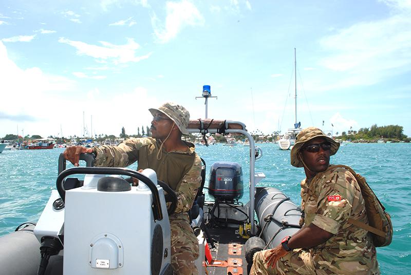 Regiment Bermuda August 5 2019 3