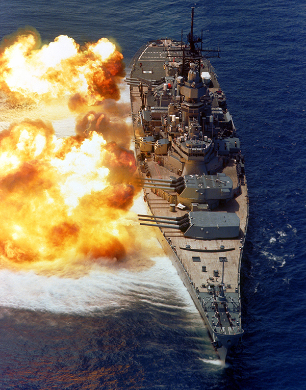 USS IOWA Bermuda August 11 2019