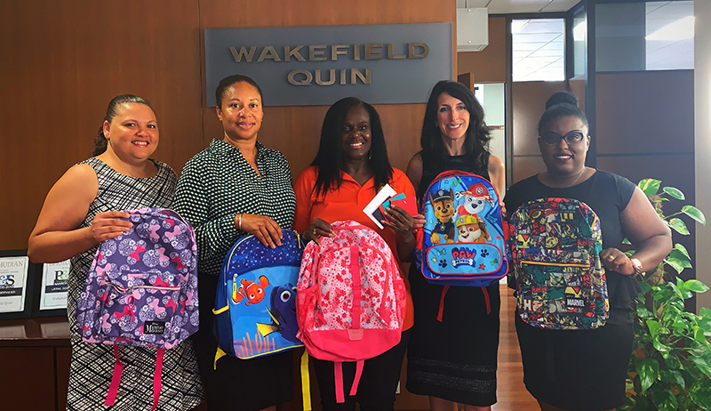Wakefield Quin Supports Back To School Drive Bermuda Aug 2019