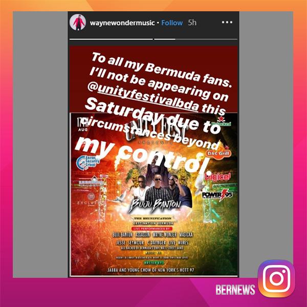 Wayne Wonder Bermuda August 16 2019 IG template