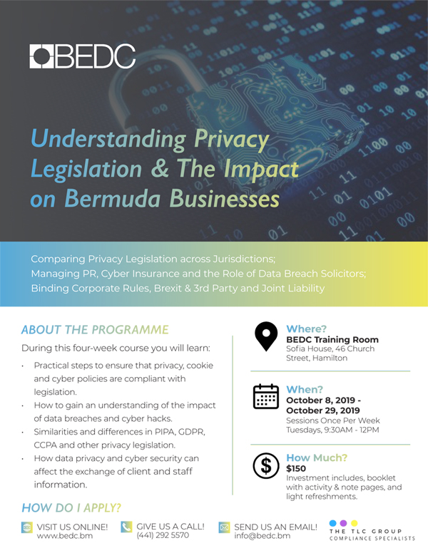 BEDC Bermuda September 2019