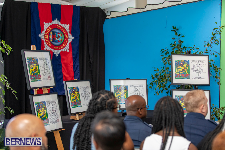 Bermuda Fire & Rescue Service Launch Fire Safety Colouring Book, September 27 2019-1374