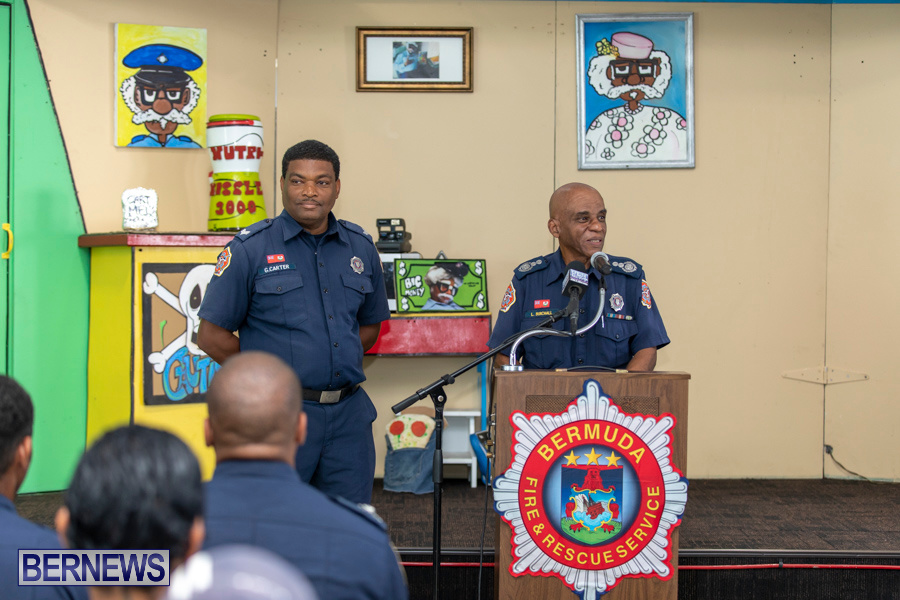 Bermuda Fire & Rescue Service Launch Fire Safety Colouring Book, September 27 2019-1387