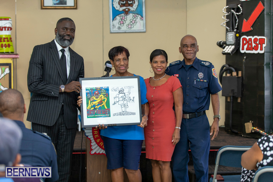 Bermuda Fire & Rescue Service Launch Fire Safety Colouring Book, September 27 2019-1393