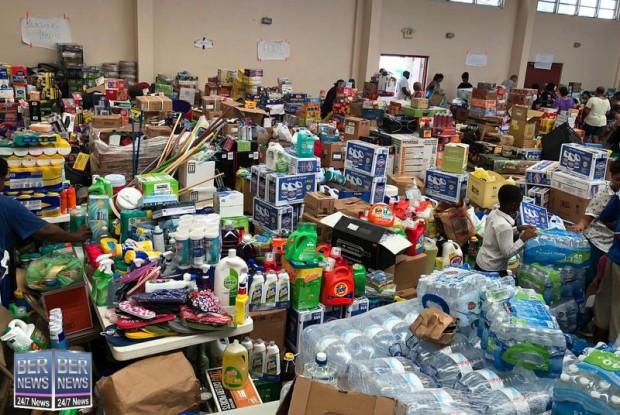 Bermuda donations for the Bahamas 2019 (1)