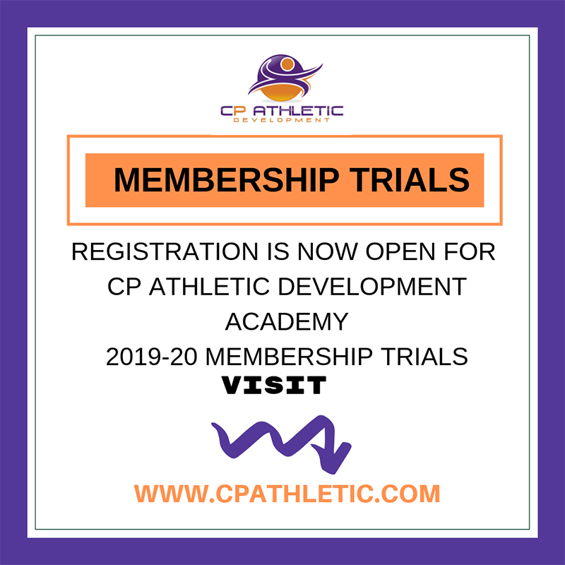 CP Athletic Development Academy Bermuda Sept 2019