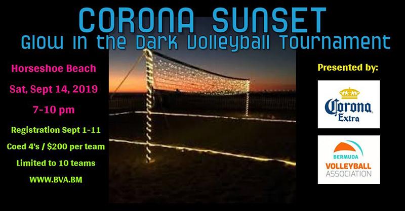 Corona Volleyball Tournament Bermuda Sept 2019