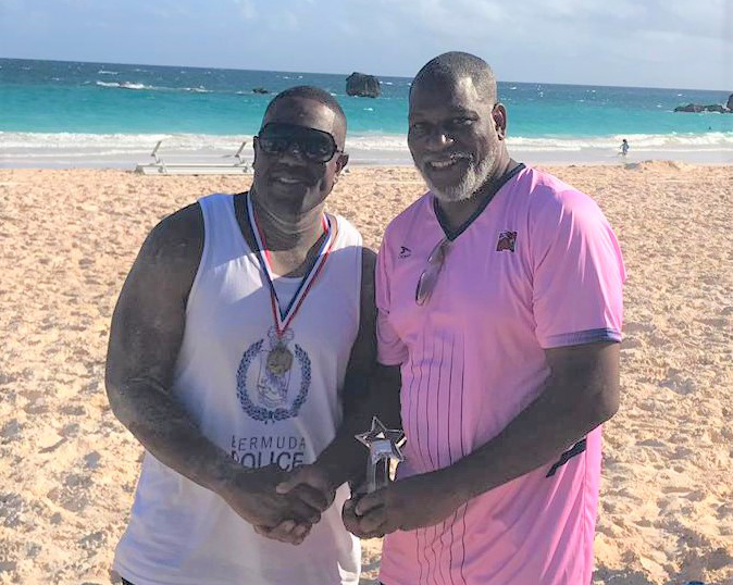 Corporate Beach Soccer Tournament Bermuda September 2019 BPS MVP
