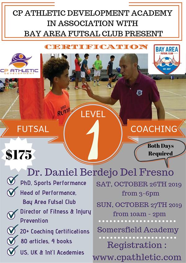 Futsal Coaching Course Bermuda Sept 2019