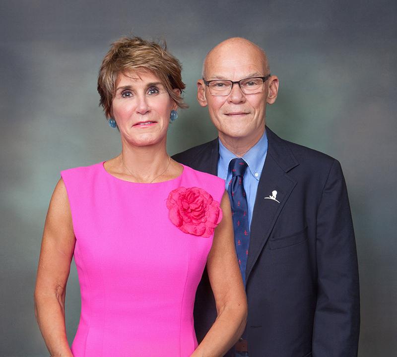 Mary Matalin & James Carville Bermuda Sept 2019