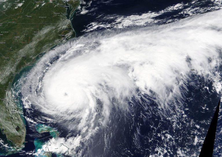 Nasa Hurricane Humberto Bermuda Sept 18 2019