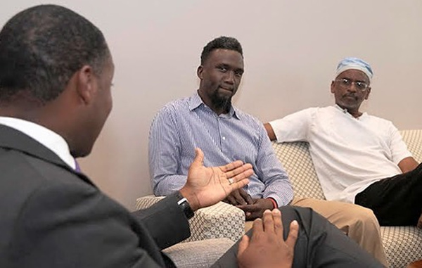 Premier Meets With Dr Theodore Francis Bermuda Sept 2019 (3)