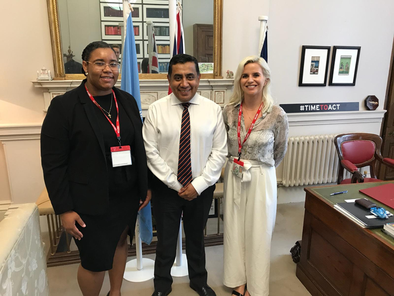 Representative Office Interns Bermuda Sept 2019