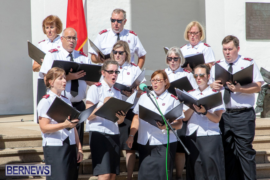 Salvation Army Congress Canadian Staff Songsters Concert Bermuda, September 27 2019-1523