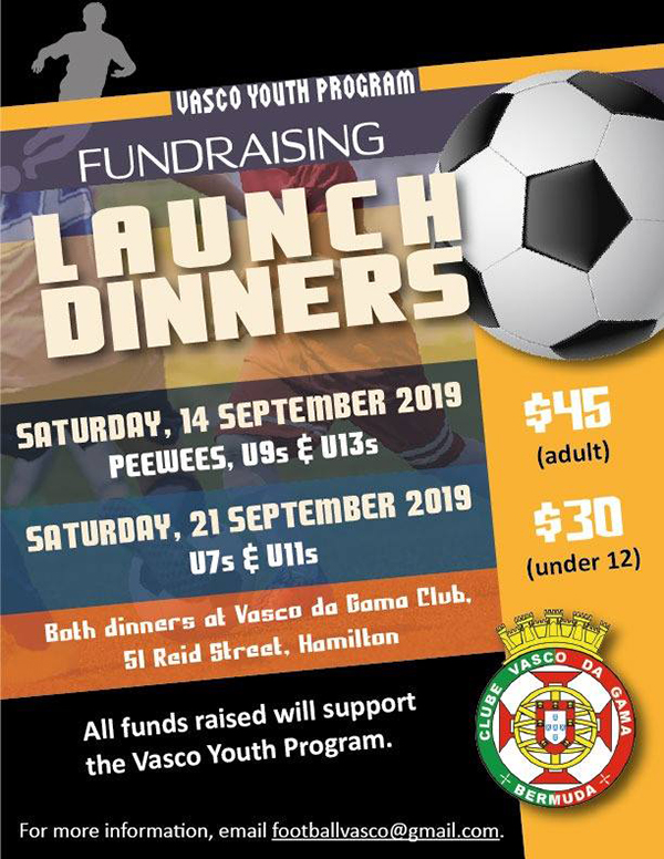 Vasco Da Gama Club Launch Dinner Bermuda Sept 2019