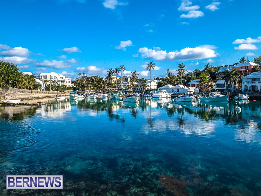 529 - The stunning inland waters of Flatts Inlet on a Bermuda-ful day