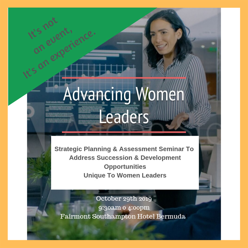 Advancing Women Leaders Bermuda Oct 2019