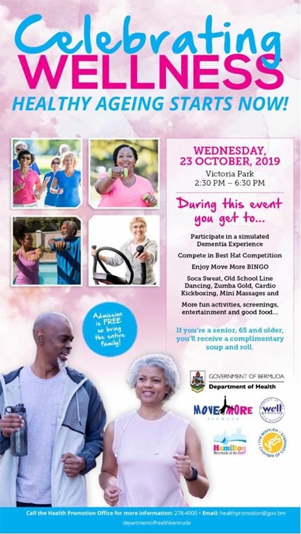 Celerating Wellness Bermuda Oct 2019