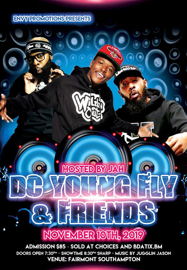 DC Young Fly & Friends Bermuda Oct 2019