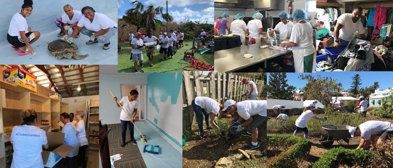 Employee Giving Week Bermuda October 2019