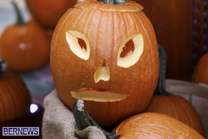 Fairmont Southampton Pumpkin Carving Bermuda Oct 2019 (11)