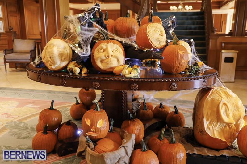 Fairmont Southampton Pumpkin Carving Bermuda Oct 2019 (13)