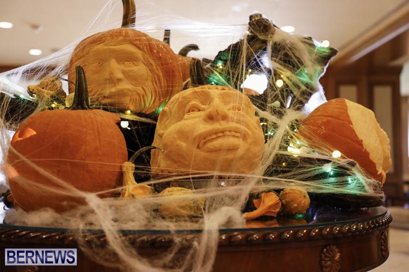Fairmont Southampton Pumpkin Carving Bermuda Oct 2019 (18)