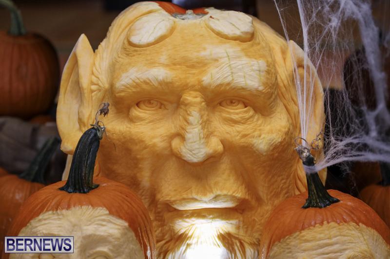 Fairmont Southampton Pumpkin Carving Bermuda Oct 2019 (3)