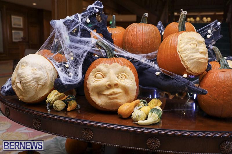 Fairmont Southampton Pumpkin Carving Bermuda Oct 2019 (9)