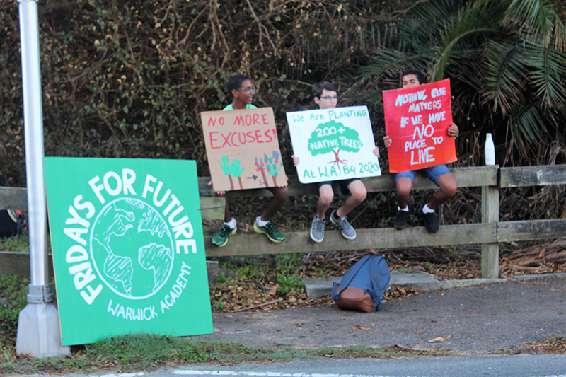 Fridays For Future Warwick Academy Bermuda Oct 2019 (3)